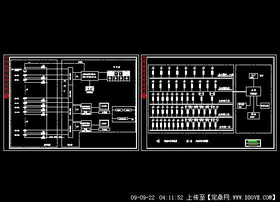 工厂监控报警系统图的下载地址,电气原理,安防消防
