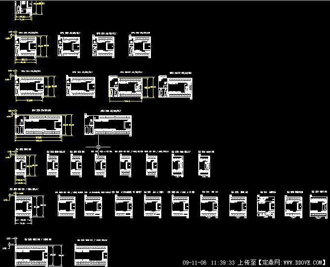 西门子器件cad文件的下载地址,电气原理,电气图例