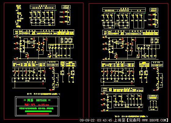 变压器微机保护监控二次电路图