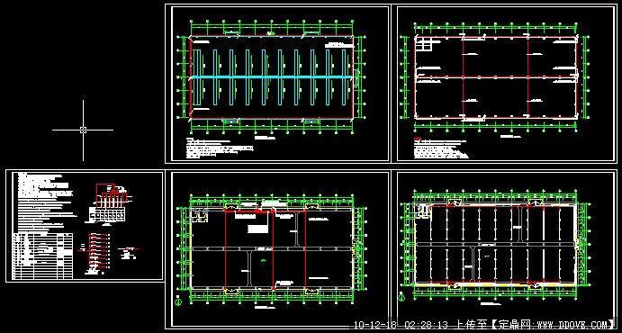 钢结构厂房灯具安装接线图