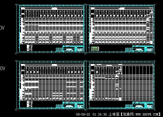 综合厂房低压配电系统图的下载地址,工业建筑,工业