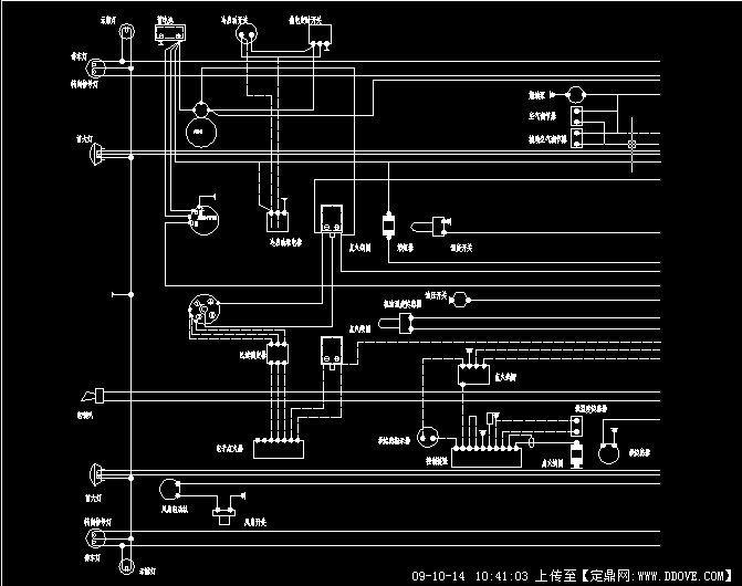 轿车电气设计图