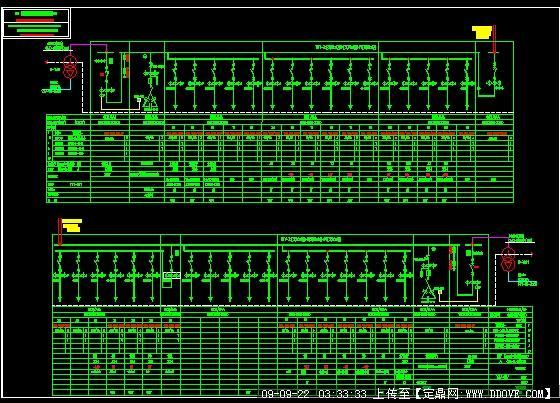 低压配电系统图
