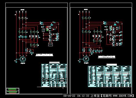 28kw~300kw自耦减压启动柜原理图
