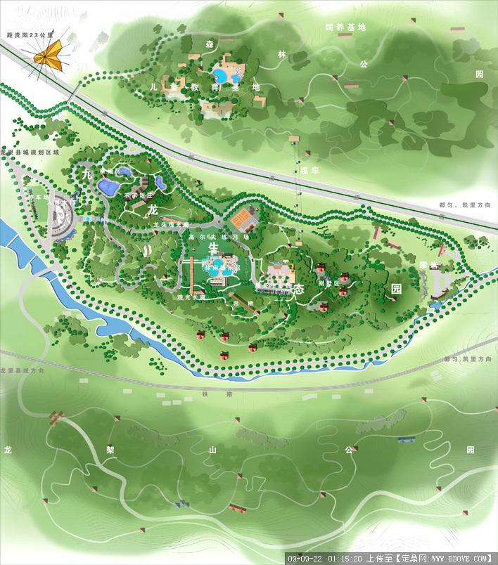 旅游规划平面图的下载地址,园林方案设计,旅游景区,_.
