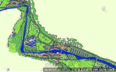 一个景区规划图