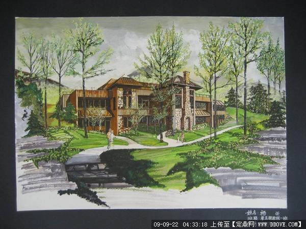手绘图的下载地址,园林方案设计,公园景观,园林景观