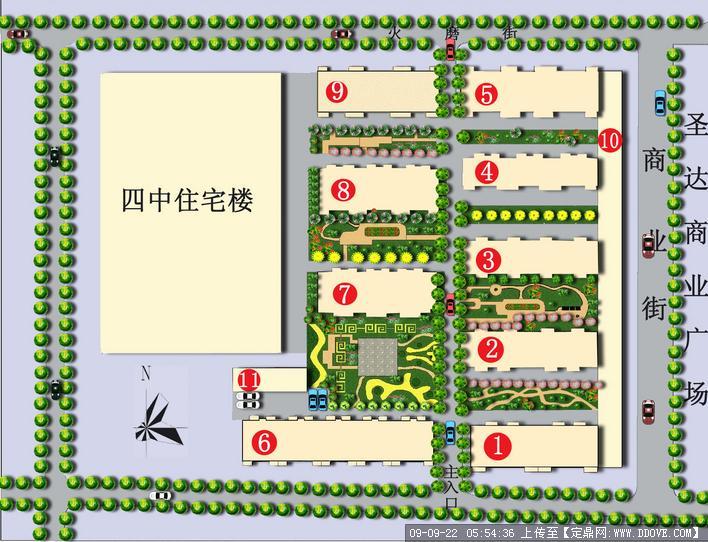 小区v小区的下载职位,公园方案设计,园林模具,园林景观景观设计师地址说明书图片