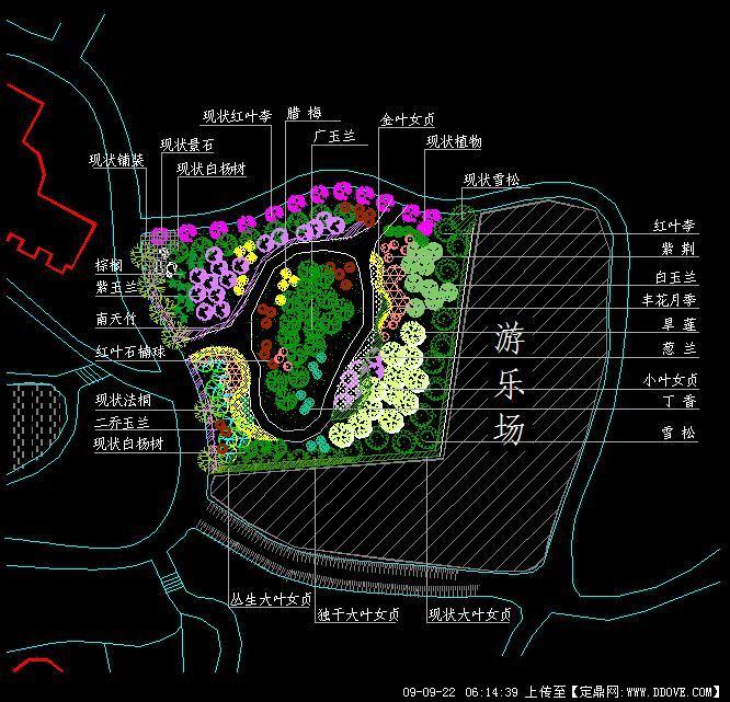 某公园绿地景观规划设计方案