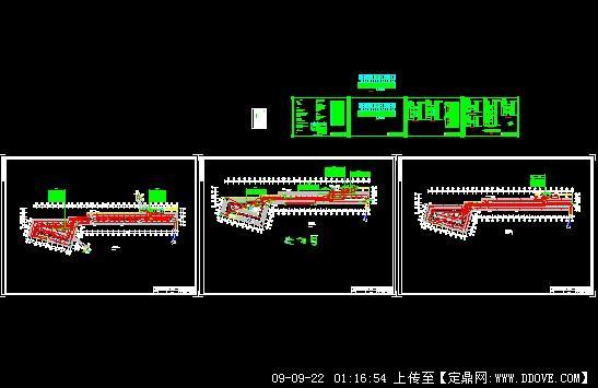 上海一个地下车库电气施工图