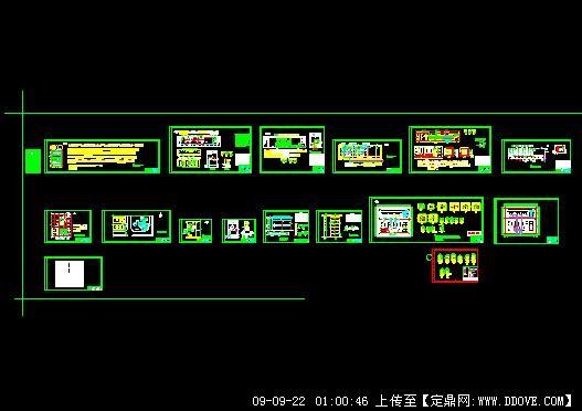 220kv变电站电缆敷设全套图纸
