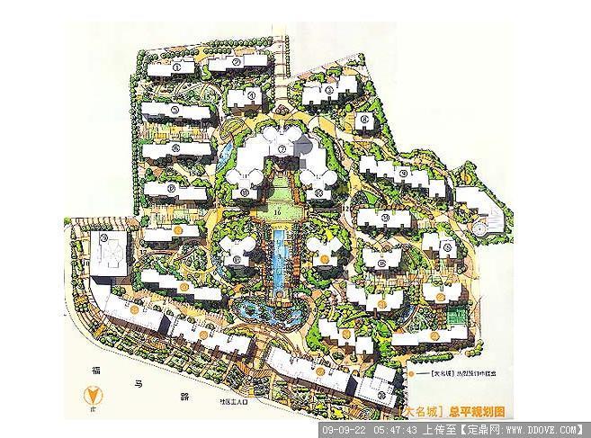 合肥复兴家园小区平面设计图展示