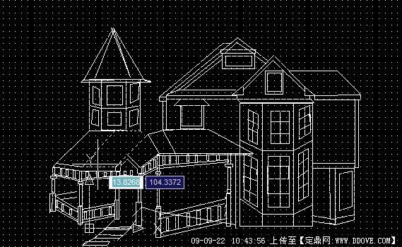 cad立体房屋建筑图纸