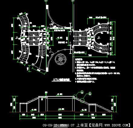 楼梯施工图的下载地址,园林方案设计,公园景观,园林_.