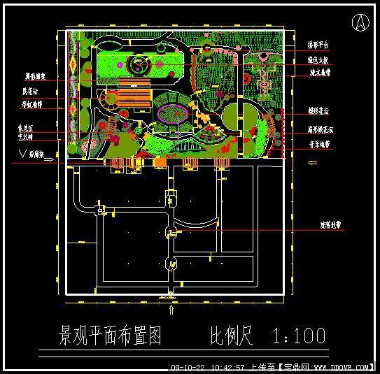 园景观规划方案CAD图纸