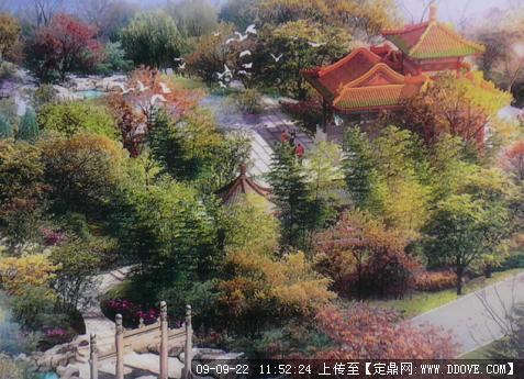 定鼎网 定鼎园林 园林项目照片 公园 济南园博园北京园景观设计实例