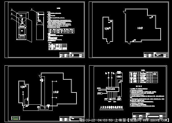 机房消防灭火设计图