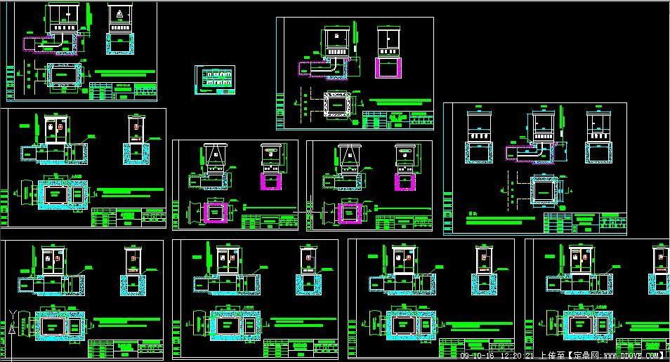 电缆分支箱图纸的下载地址,电气原理,电气图例