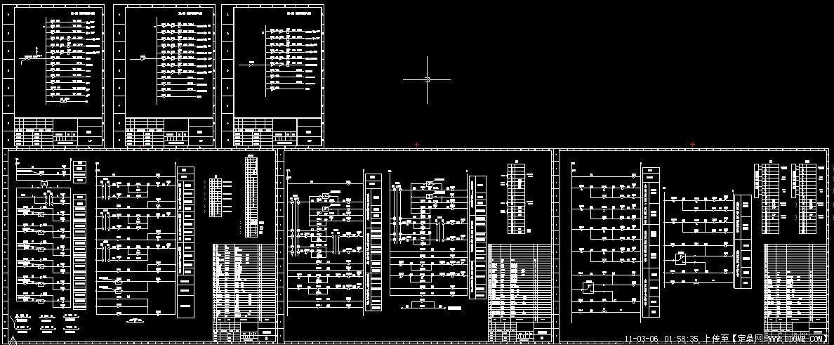 锅炉三相交流接触器接线图