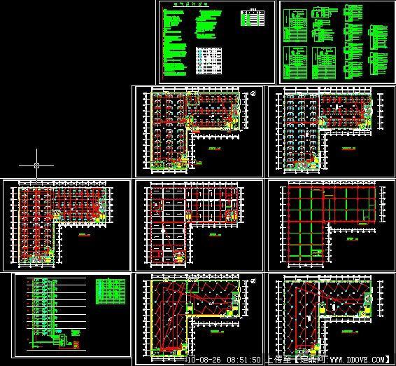 厂房电气平面图