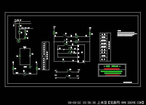 一拖一电机软启动控制原理图
