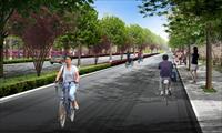 效果图/道路景观绿化效果图...