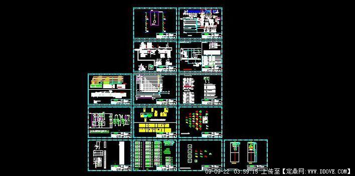 科泰柴油发电机plc控制竣工图