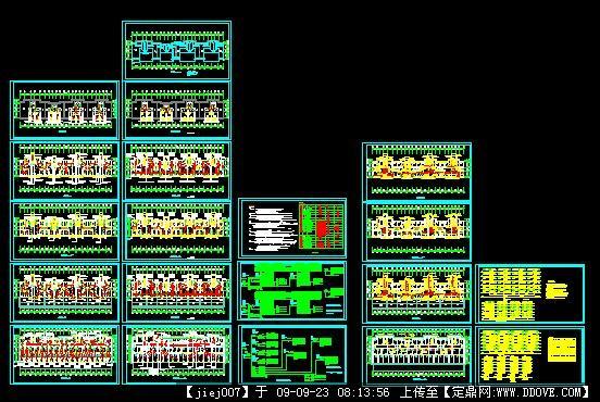 小区住宅电气设计图