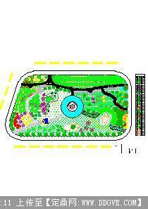 小游园设计图,校园绿化平面设计图,校园小游园平面 ...