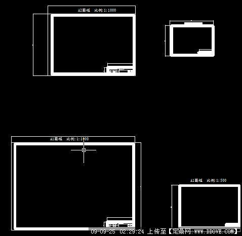 实用的CAD标准图框宇航cad软件破解图片