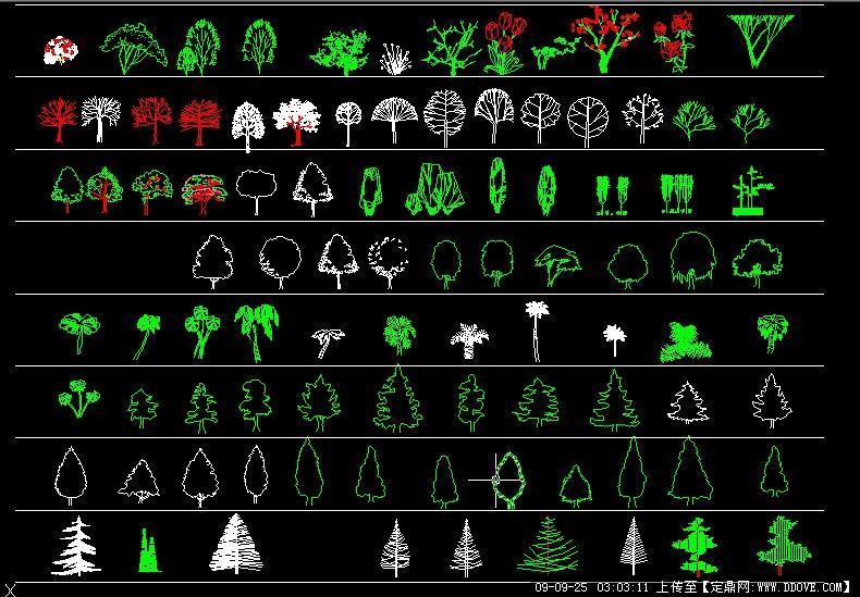 树木平面图-办公室平面设计图,树木平面图画法,树木平面图手绘,景观