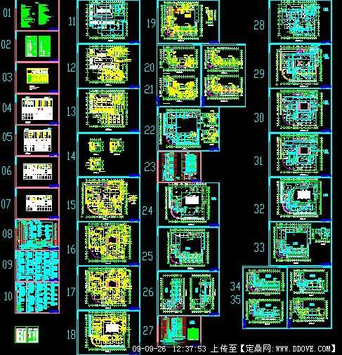 某商场综合楼全套电气施工图