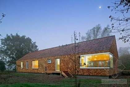 装修欣赏:300平乡村房屋简约风格装修