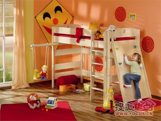 可爱欧式儿童床 让孩子开心入梦乡