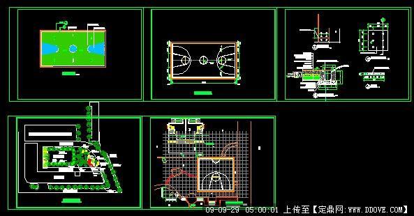 篮球场施工图