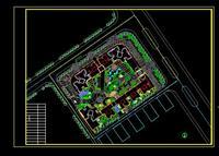 效果图 居住区/中山某居住用地规划方案