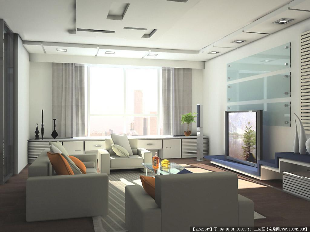 简约时尚的室内装修风格效果图集