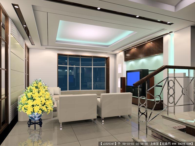精品客厅室内装修电视背景墙效果图的图片浏览