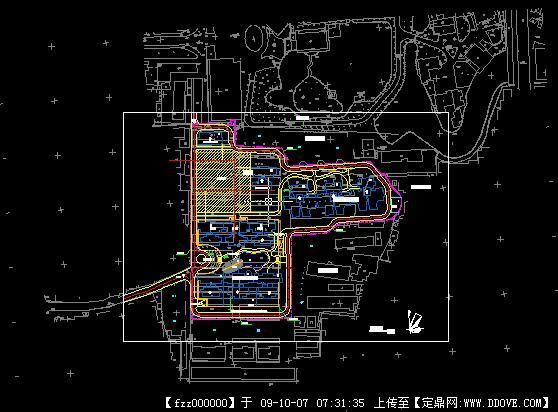 v小区小区地形图CAD图纸国特潍坊图纸制砂机图片