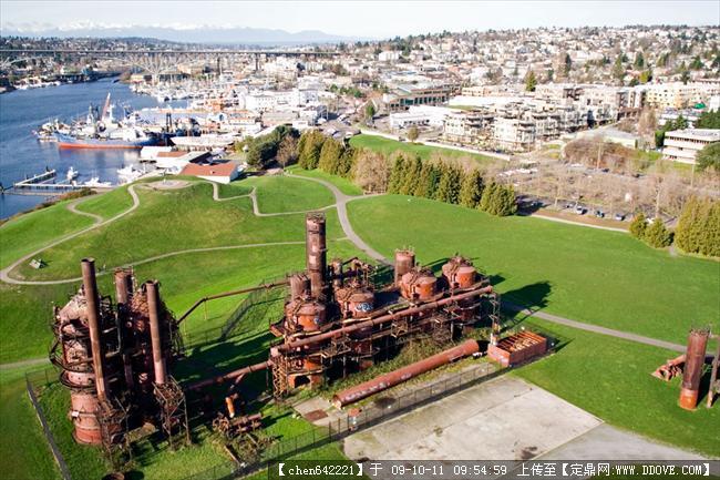 西雅图煤气厂实景(旧厂v实景)照片水电16张的图公园是表示图纸tl图片
