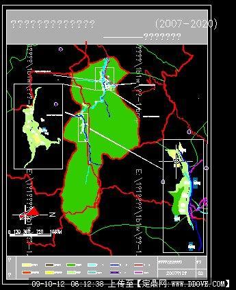 定鼎网 定鼎园林 园林方案设计 城乡规划 新农村规划村庄现状分析图