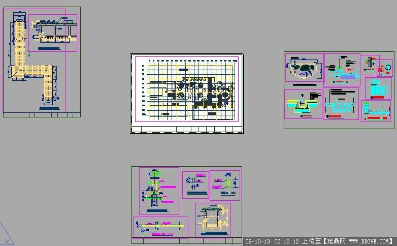 校园场地设计施工图