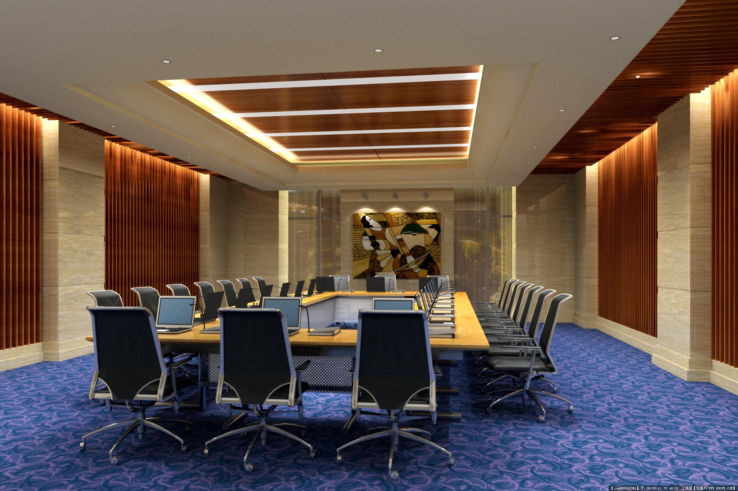 北京办公室装修丰台写字楼装修设计; 酒店效果图4张; 酒店效果图4张