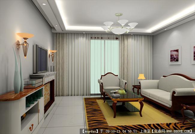 室内装修cad方案 效果的下载地址 高清图片