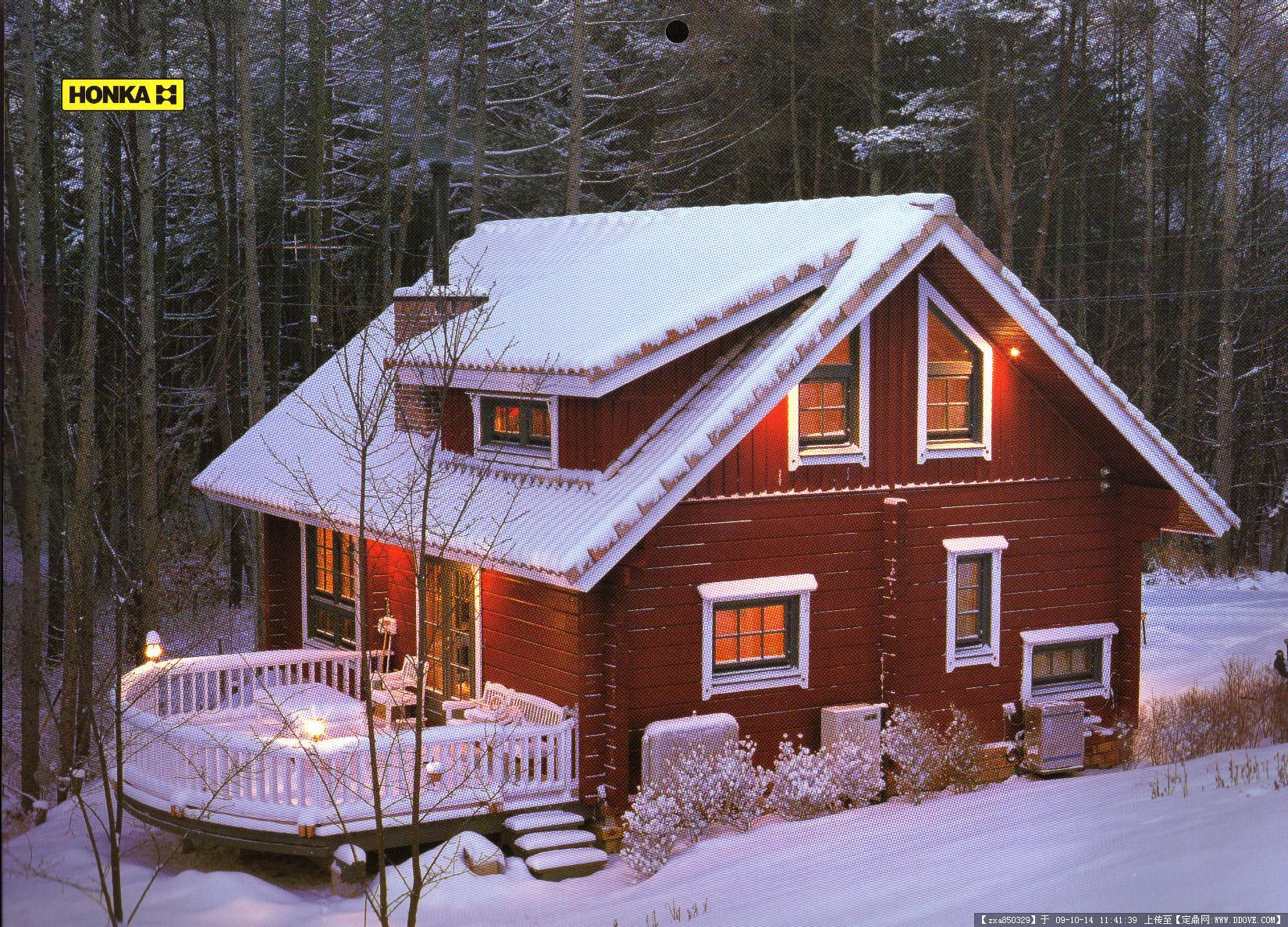 木屋别墅图片集