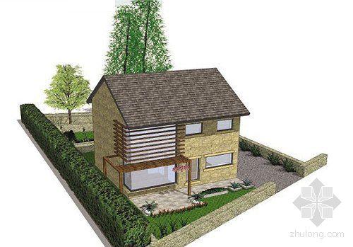 农村小二楼屋顶设计图