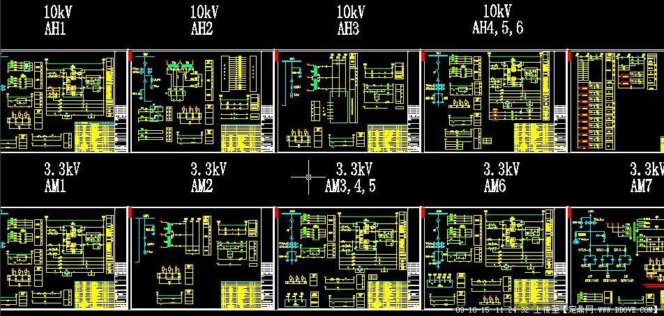 10kv高压计量柜的接线原理图;