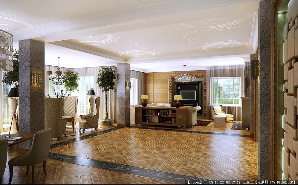 一套完美的豪华别墅设计效果