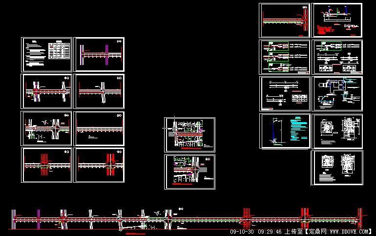全套路灯施工图设计