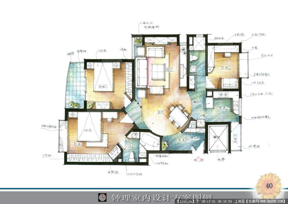 家居图手绘 尺寸